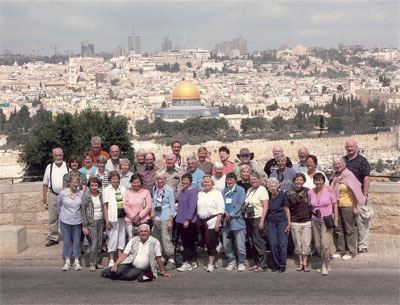 Canaan Tours Produced Visit to Israel